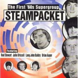 Steampacket - First '60s Supergroup CD Cover Art