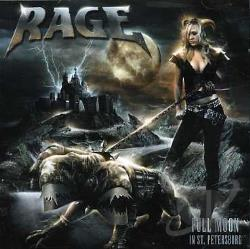 Rage - Full Moon In St. Petersburg CD Cover Art