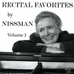 Beethoven / Liszt / Nissman / Schubert - Recital Favorites by Nissman, Vol. 1 CD Cover Art