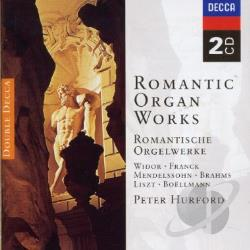 Hurford, Peter - Romantic Organ Works CD Cover Art