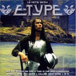 E-Type - 14 Hits CD Cover Art