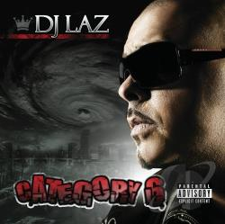 DJ Laz - Category 6 CD Cover Art
