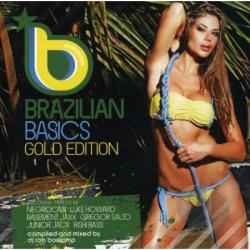 Boskamp, Rob - Brazilian Basics:Gold Edition Mixed B CD Cover Art