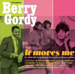 It Moves Me: The Songs of Berry Gordy CD Cover Art
