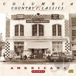 Columbia Country Classics Vol. 3: Americana CD Cover Art