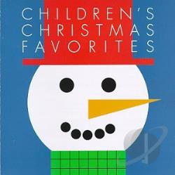 Children's Christmas Favorites CD Cover Art