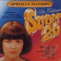 Mathieu, Mireille - Die Goldenen Super 20 (Deutche Collection) CD Cover Art