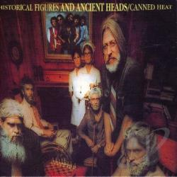 Canned Heat - Historical Figures & Ancient Head CD Cover Art