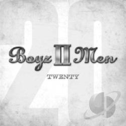 Boyz II Men - Twenty CD Cover Art