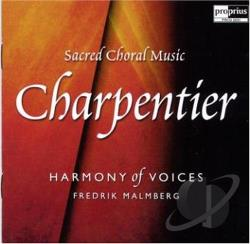 Charpentier / Harmony Of Voices - Charpentier: Sacred Choral Music CD Cover Art