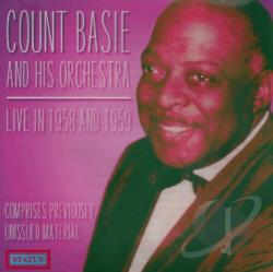 Basie, Count - Live (1958-1959) CD Cover Art