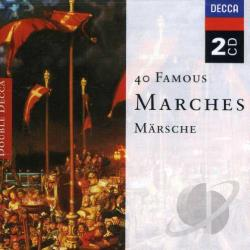 40 Great Marches - 40 Famous Marches CD Cover Art