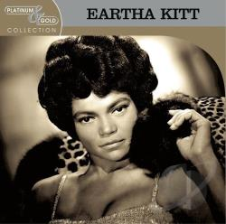 Kitt, Eartha - Platinum & Gold Collection CD Cover Art