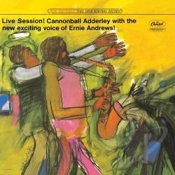 Adderley, Cannonball - Live Session! CD Cover Art