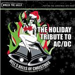 Hell's Bells of Christmas: The AC/DC Tribute CD Cover Art