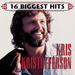 Kristofferson, Kris - 16 Biggest Hits CD Cover Art