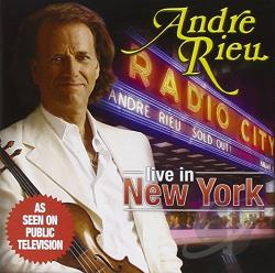Rieu, Andre - Radio City Music Hall - Live in New York CD Cover Art