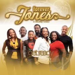 Forever Jones - Get Ready CD Cover Art