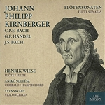 Kirnberger / Savary / Soltesz / Wiese - Johann Philipp Kirnberger: Flotensonaten CD Cover Art