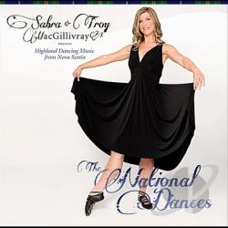 Macgillivray, Sabra & Troy - National Dances CD Cover Art