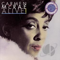 McRae, Carmen - Alive! CD Cover Art