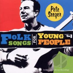 Seeger, Pete - Folk Songs for Young People CD Cover Art
