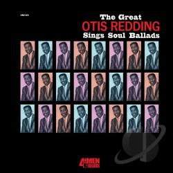 Redding, Otis - Great Otis Redding Sings Soul Ballads LP Cover Art