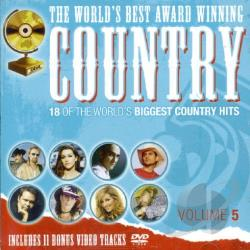 World's Best Award Winning Country - World's Best Award Winning Country Vol. 5 - World's Best Award Winning Country CD Cover Art