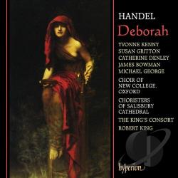 Handel / King / King's Consort - Handel: Deborah CD Cover Art