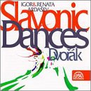 Dvorak / Igor & Renata Ardasev - Slavonic Dances CD Cover Art