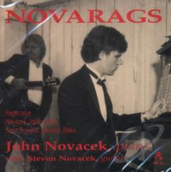 Novacek, John - Novarags CD Cover Art