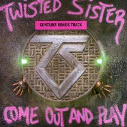Twisted Sister - Come Out & Play CD Cover Art