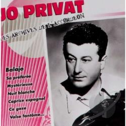 Privat, Jo - Les Archives de l'Accordeon CD Cover Art