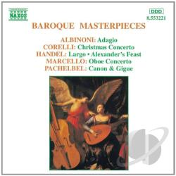 Baroque Masterpieces - Baroque Masterpieces CD Cover Art
