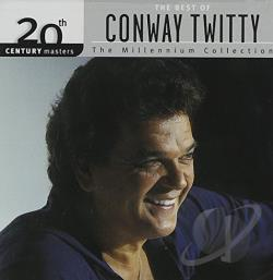 Twitty, Conway - 20th Century Masters - The Millennium Collection: The Best of Conway Twitty CD Cover Art