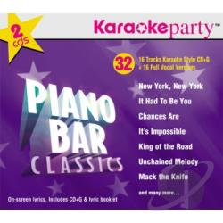 Karaoke Party - Piano Bar Classics CD Cover Art