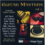 Guitar Masters, Vol. 1 CD Cover Art
