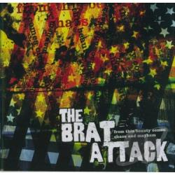 Brat Attack - In This Beauty Comes Chaos And CD Cover Art