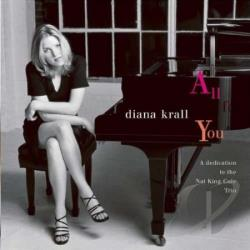 Krall, Diana - All For You CD Cover Art