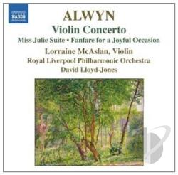 Alwyn, W. / Lloyd-Jones / Rlp - Alwyn: Violin Concerto CD Cover Art