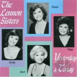 Lennon Sisters - Yesterday and Today CD Cover Art