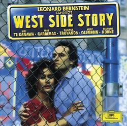 Bernstein / Carreras / Te Kanawa - West Side Story CD Cover Art