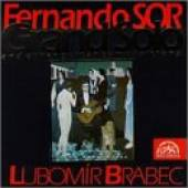 Sor - Sor: Lubomir Brabec (Guitar) CD Cover Art