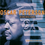Peterson, Oscar - Dimensions: A Compendium of the Pablo Years CD Cover Art
