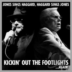 Haggard, Merle / Jones, George - Kickin' Out the Footlights...Again CD Cover Art