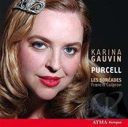 Colpron / Les Boreades / Purcell - Karina Gauvin sings Purcell CD Cover Art