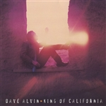 Alvin, Dave - King of California CD Cover Art