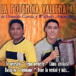 Garcia, Oswaldo - Potencia Vallenata CD Cover Art