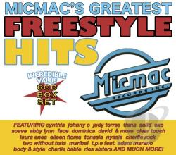 Micmac's Greatest Freestyle Hits CD Cover Art