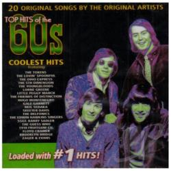 Top Hits Of The 60's: Coolest Hits CD Cover Art